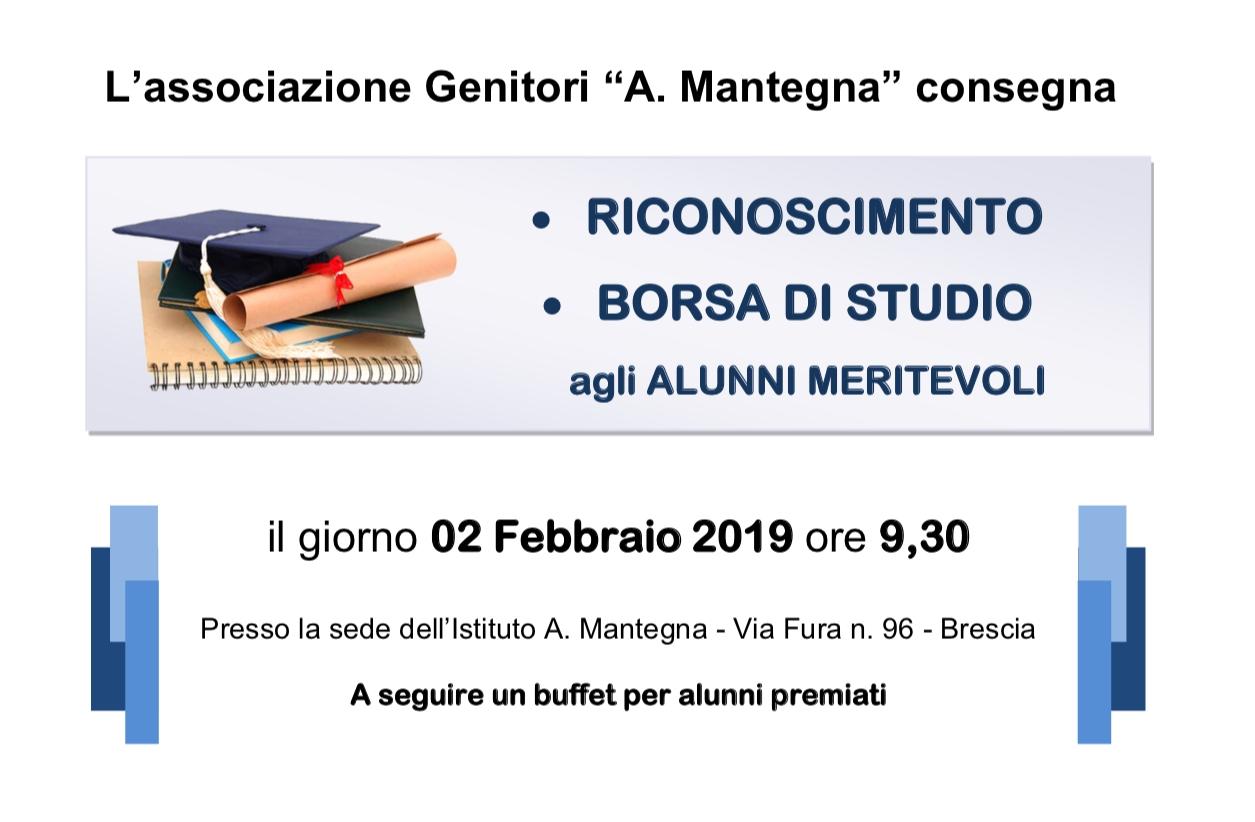 2a156d9dcf BORSE DI STUDIO a. s. 2017/18. il RICONOSCIMENTO verrà conferito agli  studenti ...
